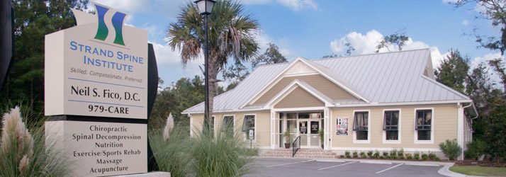 Chiropractic Pawleys Island SC Office Building Hero
